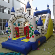hot sell kids inflatable slides