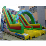 cheap adult inflatable slide