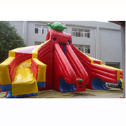 tortoise inflatable slides