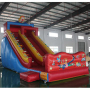 commercial cheap inflatable slides