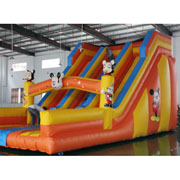 Mickeys Clubhouse inflatable  slide