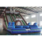 pirate inflatable slide hire