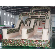 army inflatable slide for kids