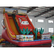Disney World of Cars inflatable slide