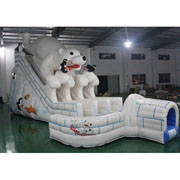 polar bear inflatable slides for sale