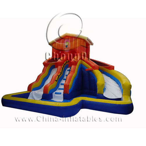 Inflatable Water Slides For Sale: Used Inflatable Water Slide For Sale No.:CQWS284 For Sale