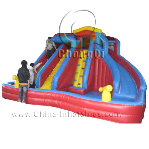 Inflatable Slide Sale: Cheap Inflatable Water Slides For Sale No.:CQWS288 For