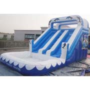 cheap inflatable dolphin water slides