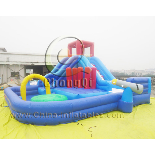 Inflatable Water Slide Repair Kit: Inflatable Water Slide No.:CQWS328 For Sale Factory Price