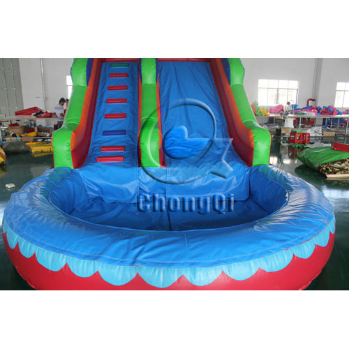 Inflatable Water Slide With Price: Inflatable Water Slide No.:CQWS355 For Sale Factory Price